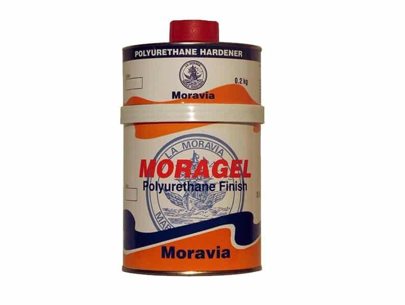 Moravia Moragel Poliüretan Son Kat Boya Siyah 2,5lt