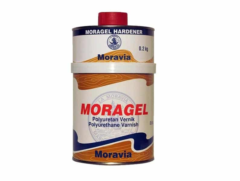 Moravia Moragel Poliüretan Son Kat Boya Bayrak Kırmızı 0,75lt