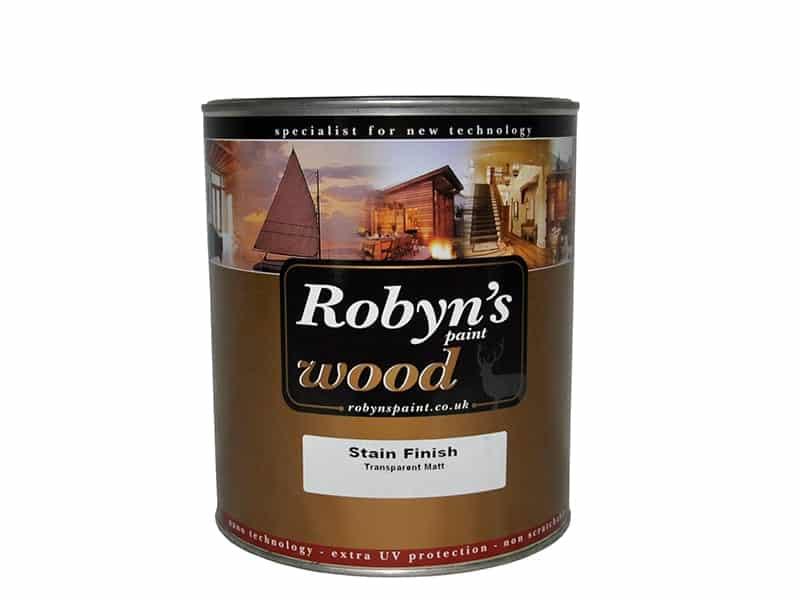 Robyns Stain Finish Solvent Bazlı Vernik 720 Naturel 0,75Lt