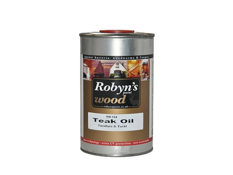 Robyns Solvent Bazlı Teak Oil 15 lt