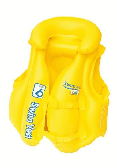 Bestway Şişme Deniz Yeleği Çocuklar İçin 51cm x 46cm