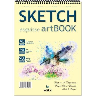 Sketch Eskiz Defteri A5 90 Yaprak