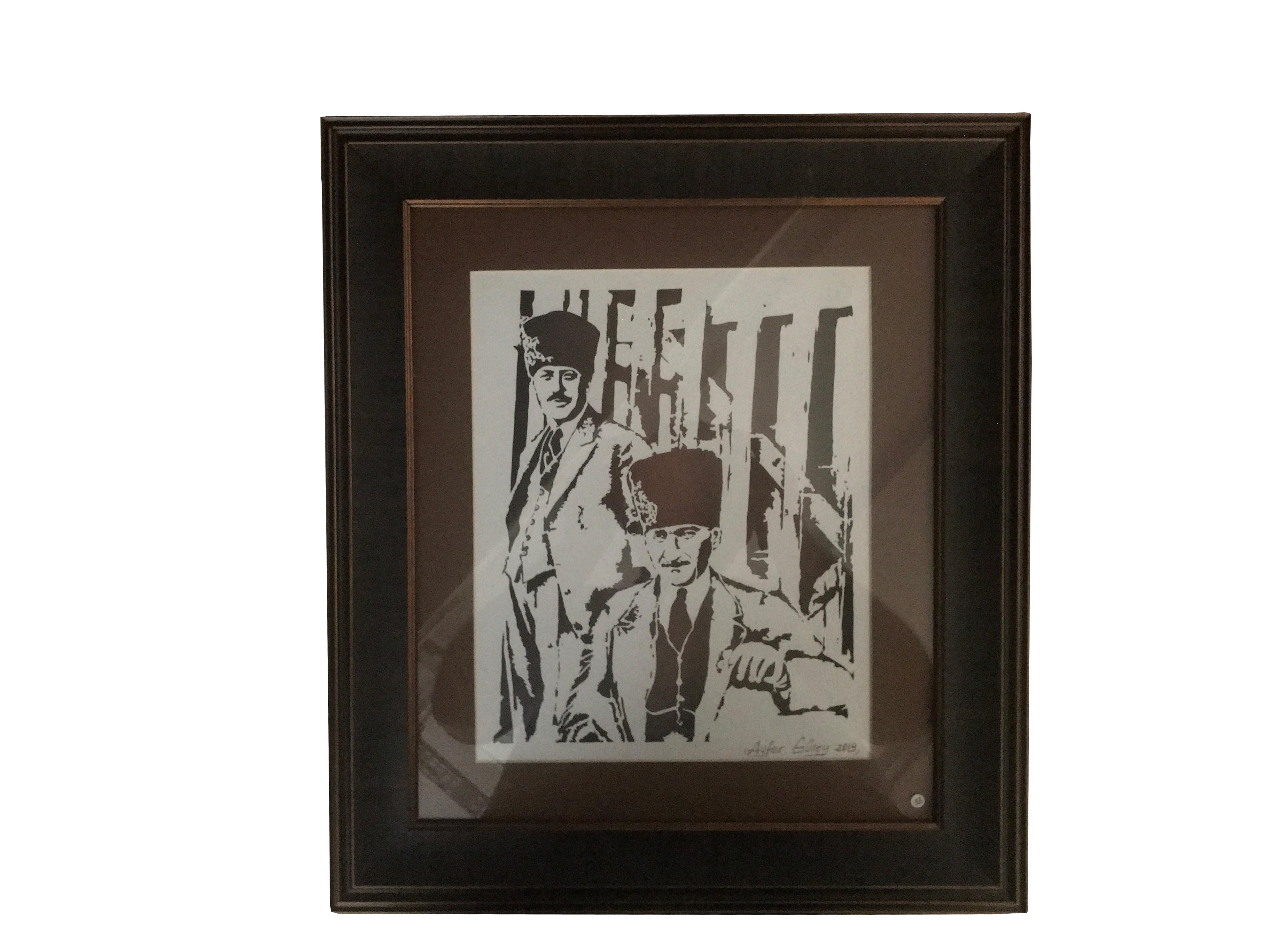 KATI' Sanatı Tablo Atatürk