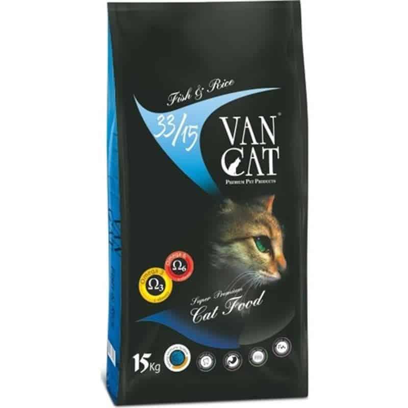 VanCat Balıklı Yetişkin Kedi Maması 15 Kg