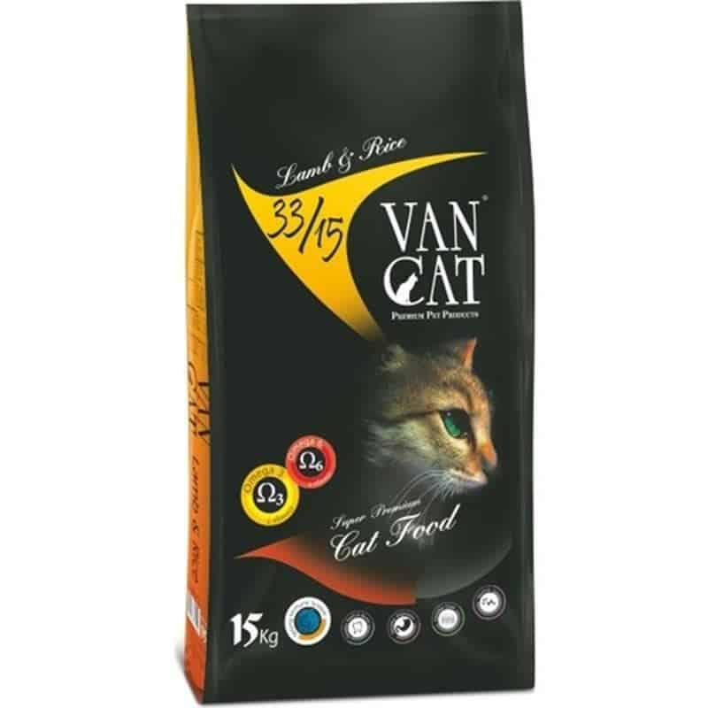 VanCat Kuzu Etli Yetişkin Kedi Maması 15 Kg