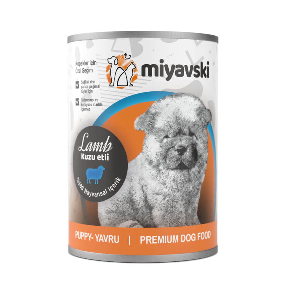 Miyavski Kuzu Etli Yavru Köpek Maması