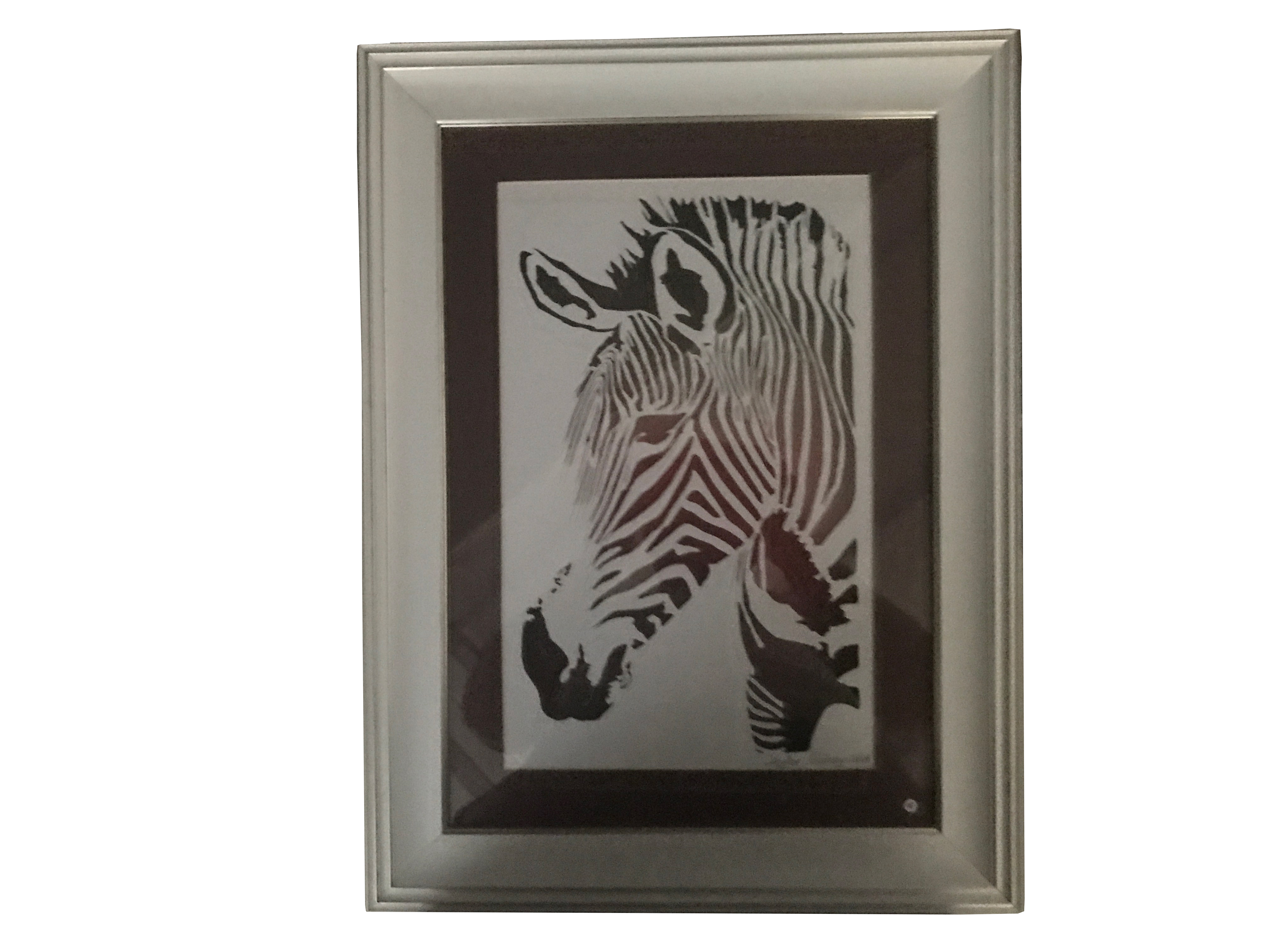 KATI' Sanatı Tablo Zebra