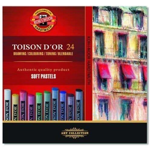 Koh-I Noor Toison D`or Soft Pastel Boya 24 Renk