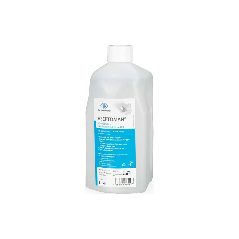Aseptoman1 L Sıvı Antibakteriyel El Ve Cilt Dezenfektanı