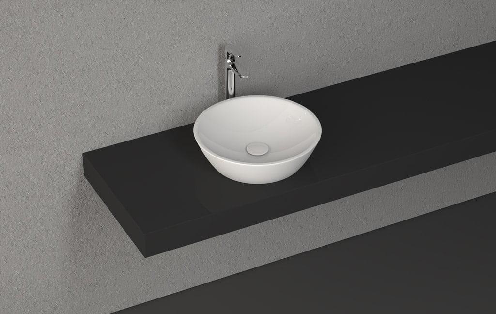 ISVEA SistemaY Soft Tezgahüstü Lavabo 45 cm
