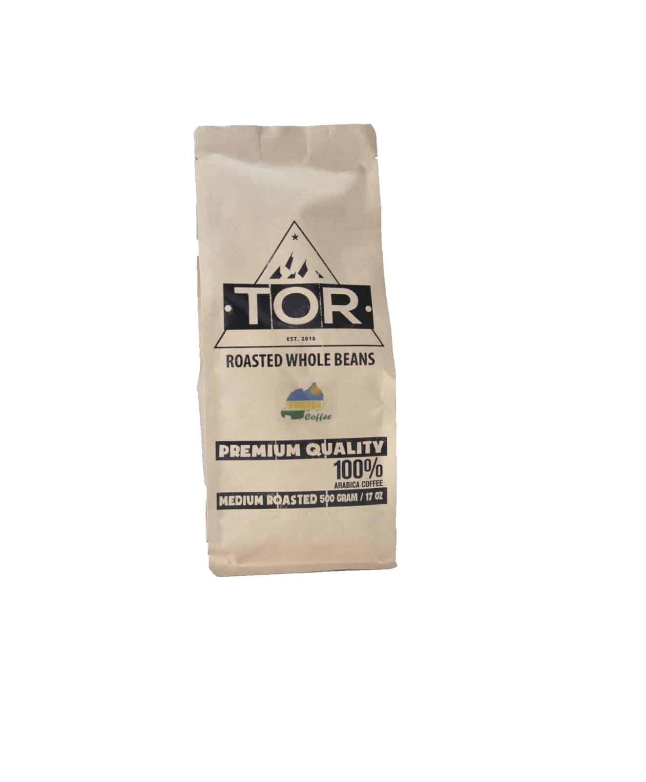 TOR COFFEE Ruanda Red Bourbon 500 Gram