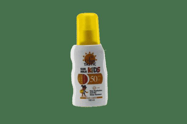 Suntastic Çocuklar için 50 Faktör Güneş Sütü