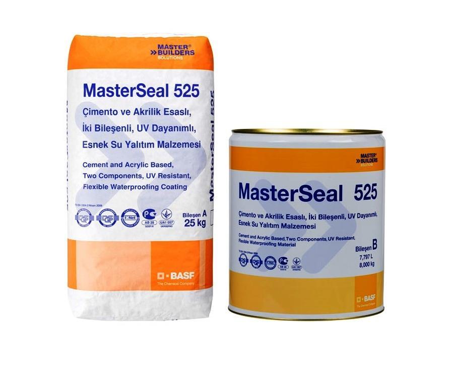 Basf Masterseal 525 25 + 8 Tk Uv Dayanımlı Su Yalıtımı