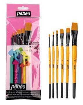 Pebeo 6 Parça Fırça Seti