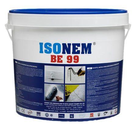 Isonem BE-99 18 Kg Beyaz Elastik Su Geçirmez Dış Cephe Boyası