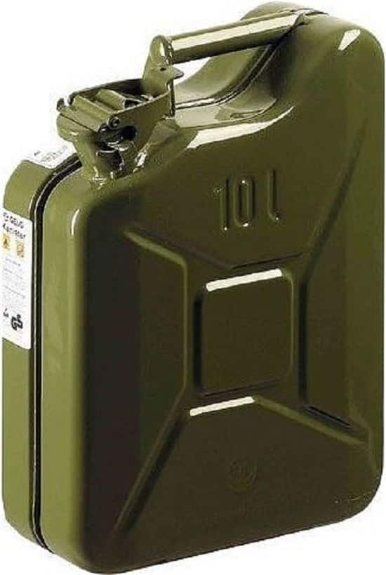 Mannesmann 048-T Metal Benzin Bidonu 10 lt