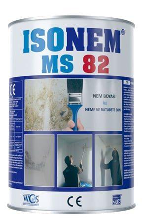 Isonem Ms 82 Nem Boyası 1 Kg Beyaz