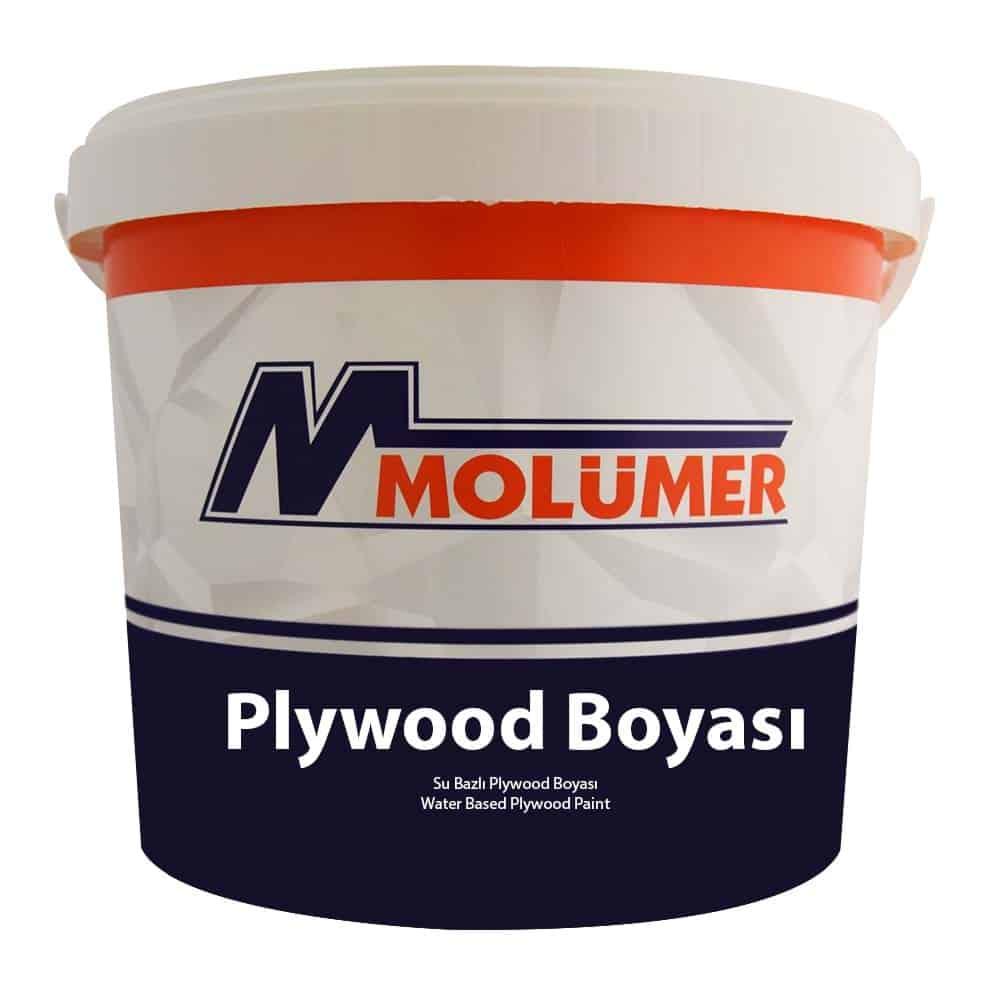 Molümer Plywood Boyası Kahverengi 5 kg