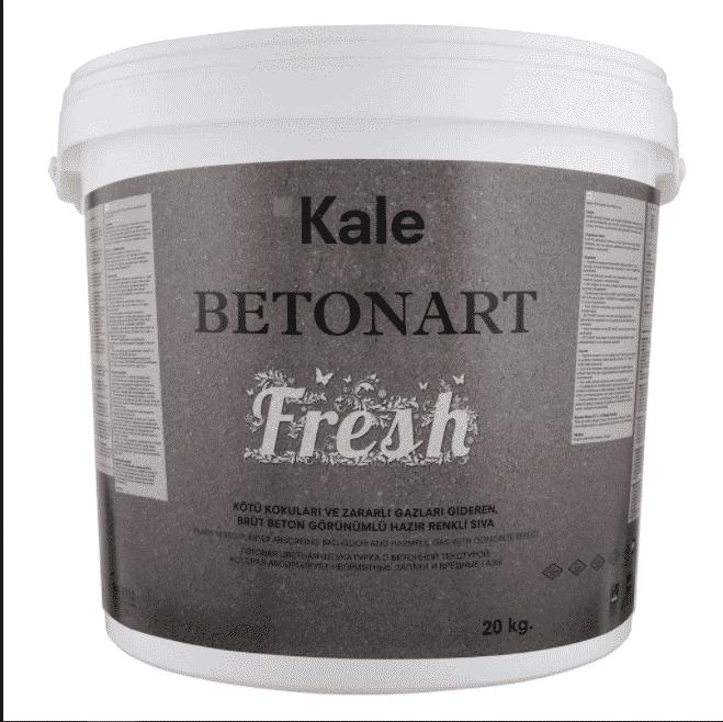 Kale Betonart Fresh 185 Koyu Gri 20 kg