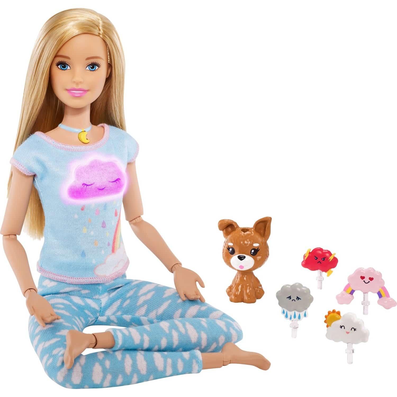 Barbie Wellness Nefes Egzersizi Bebeği
