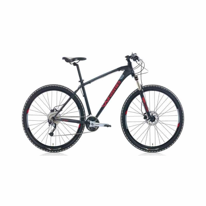 Whistle Patwin 1827 27 V HD 29 Jant Erkek Dağ Bisikleti, MAT SİYAH,KIRMIZI GRİ
