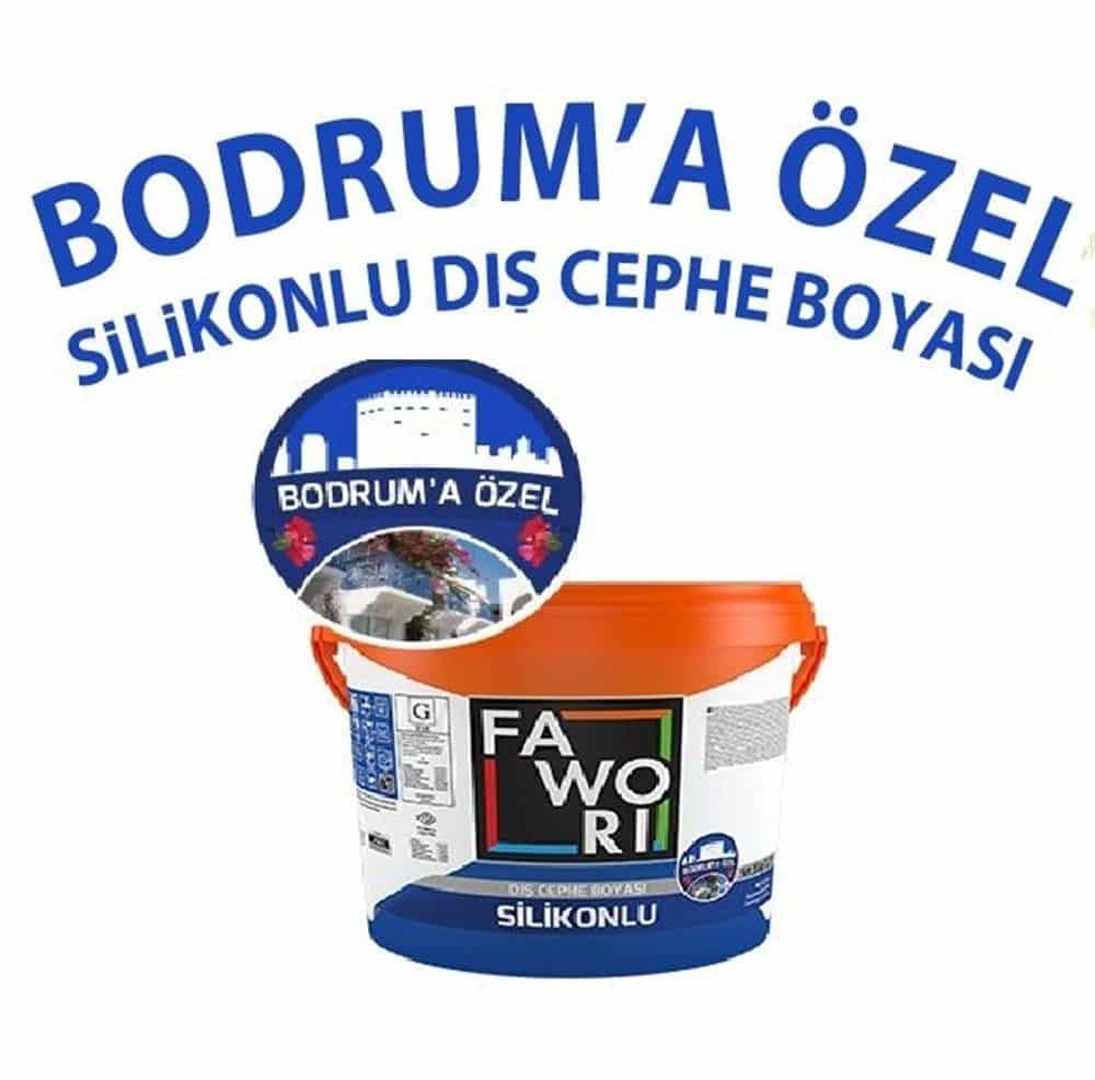 Fawori Bodrum'a Özel Silikonlu Dış Cephe Boyası 20 kg